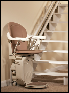 Reconditioned Curved Stairlift Cardiff
