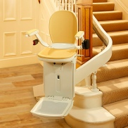 Used curved stairlift