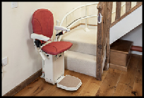 Curved Platinum Stair lift Cardiff
